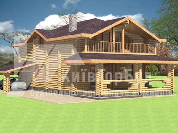 Wooden house project A-207 - image 1