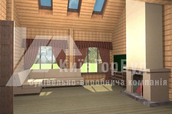 Wooden house project A-244 - image 2