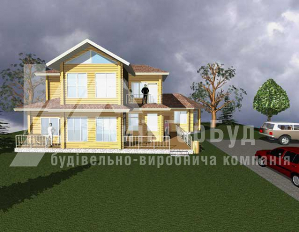 Wooden house project J-218 - image 2