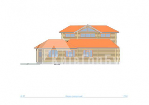 Wooden house project J-218 - image 6