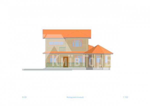 Wooden house project J-218 - image 5