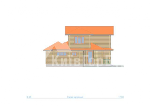 Wooden house project J-218 - image 3