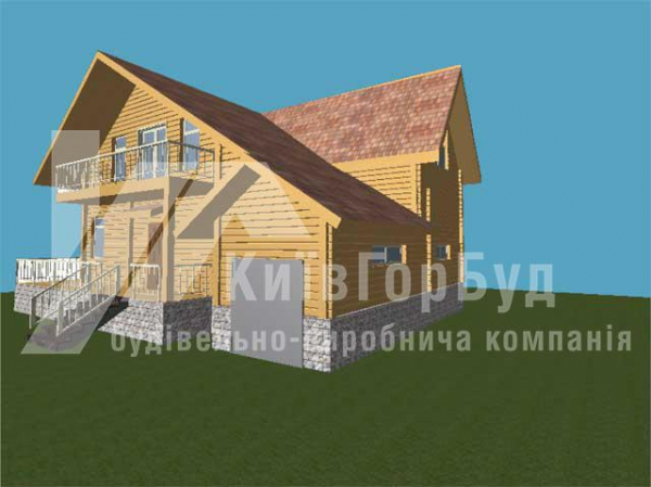 Wooden house project J-220 - image 2