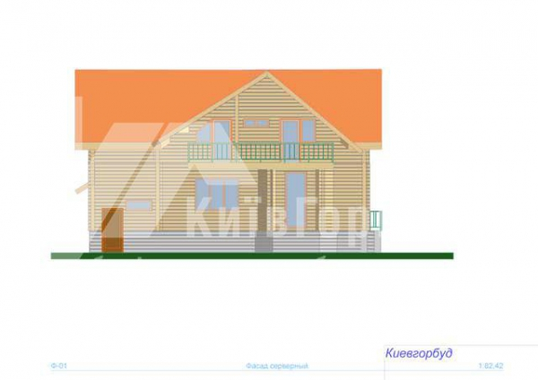 Wooden house project J-220 - image 3