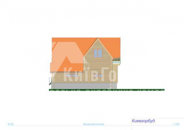 Wooden house project J-220 - image 4