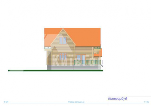 Wooden house project J-220 - image 6