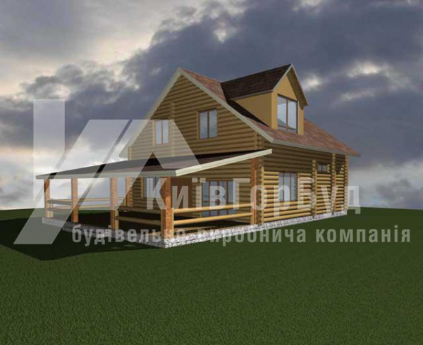 Wooden house project J-260 - image 1