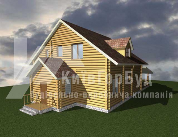 Wooden house project J-260 - image 2