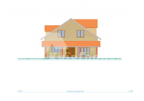 Wooden house project J-260 - image 3