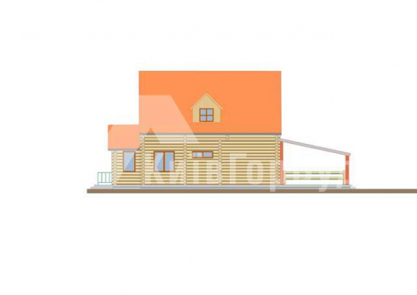 Wooden house project J-260 - image 4