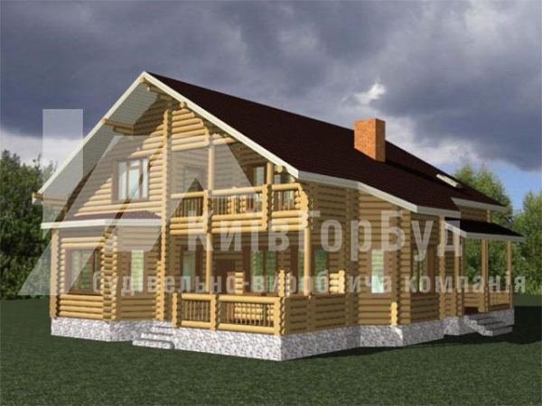 Wooden house project J-270 - image 2