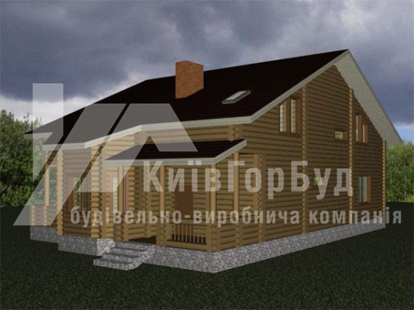 Wooden house project J-270 - image 1
