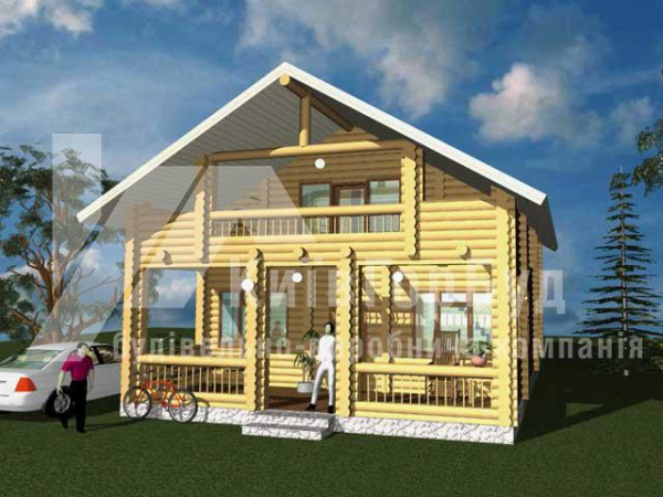 Wooden house project J-171 - image 1