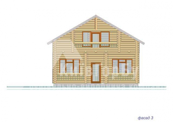 Wooden house project J-171 - image 6