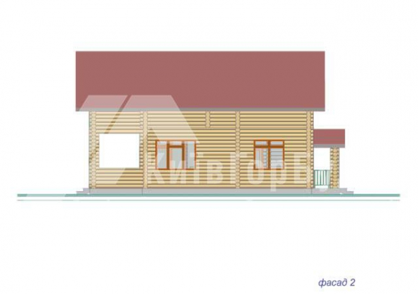 Wooden house project J-171 - image 5