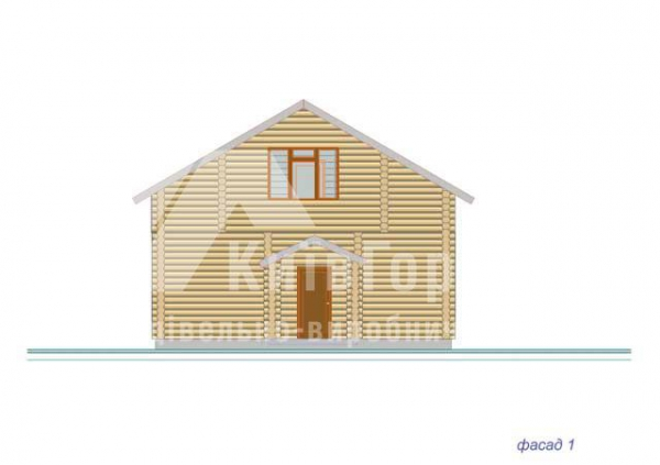Wooden house project J-171 - image 4