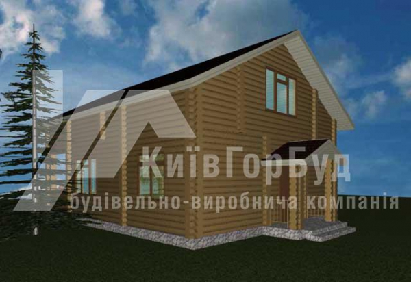 Wooden house project J-171 - image 3
