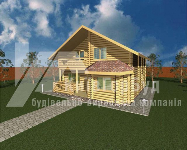 Wooden house project V-158 - image 1