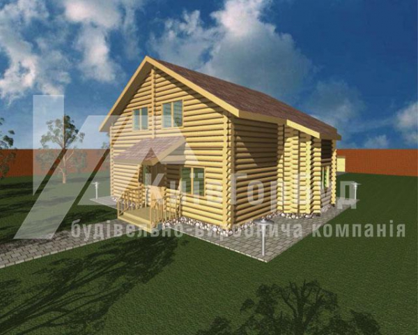 Wooden house project V-158 - image 2