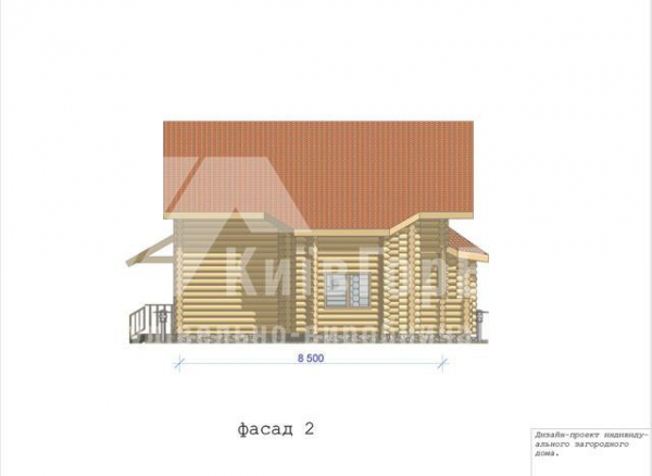 Wooden house project V-158 - image 4