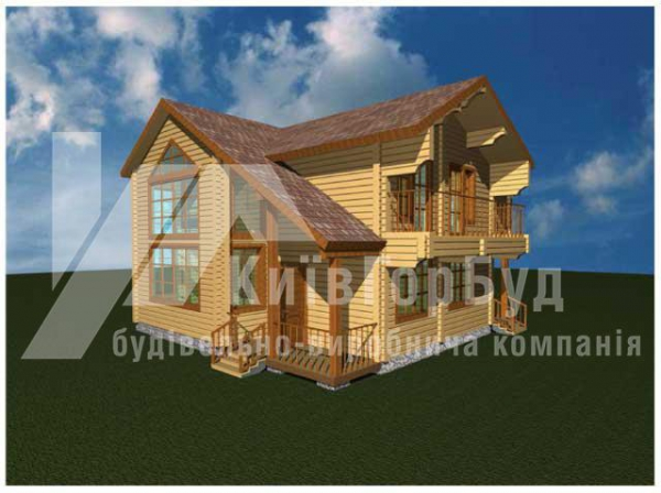 Wooden house project V-162 - image 1