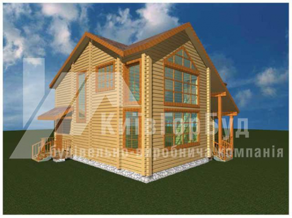 Wooden house project V-162 - image 2