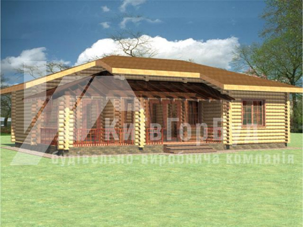 Wooden house project A-95 - image 1