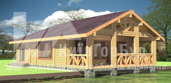 Wooden house project A-115 - image 1