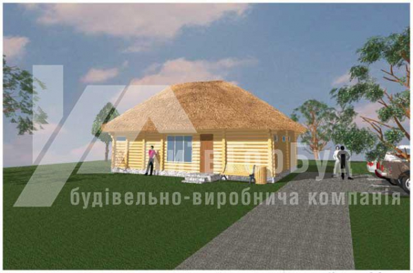 Wooden house project J-88 - image 1