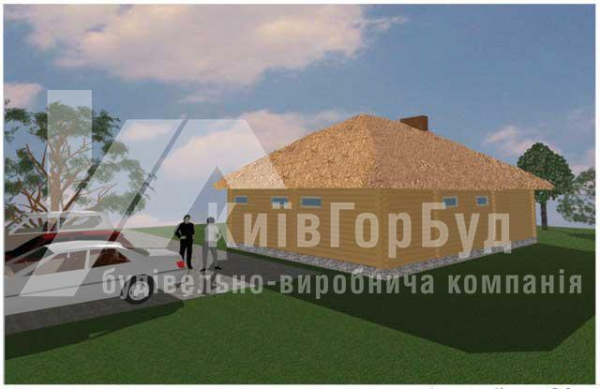 Wooden house project J-88 - image 2
