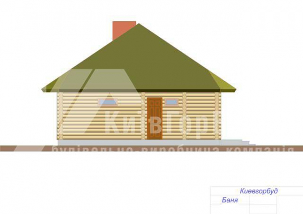 Wooden house project J-88 - image 4