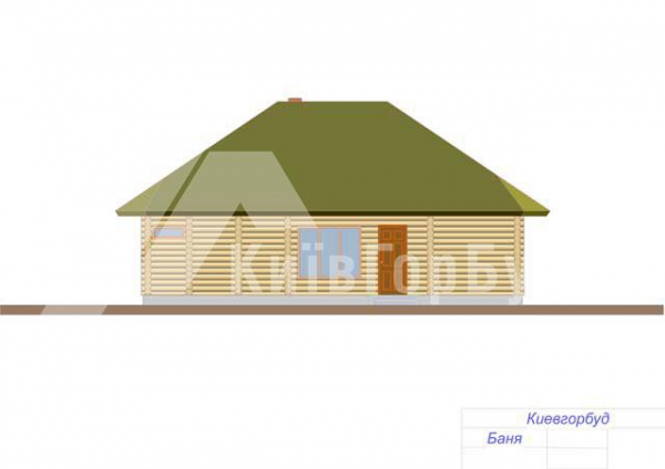 Wooden house project J-88 - image 5