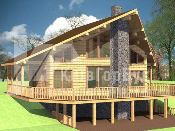 Wooden house project A-202 - image 5