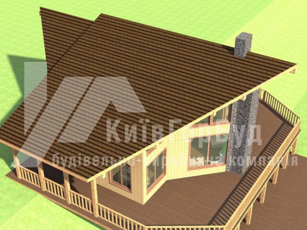 Wooden house project A-202 - image 4