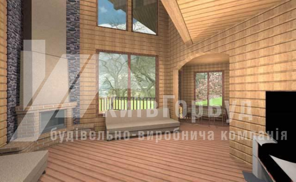Wooden house project A-202 - image 2