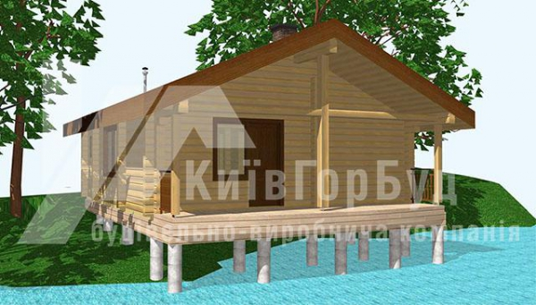 Wooden baths project V-56 - image 1
