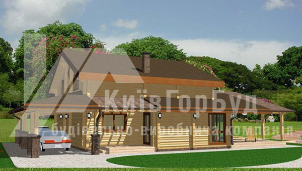 Wooden house project V-165 - image 3