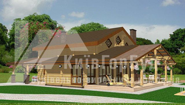 Wooden house project V-165 - image 2