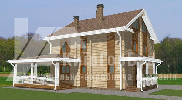 Wooden house project V-177 - image 1