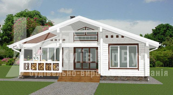 Wooden house project V-96 - image 2