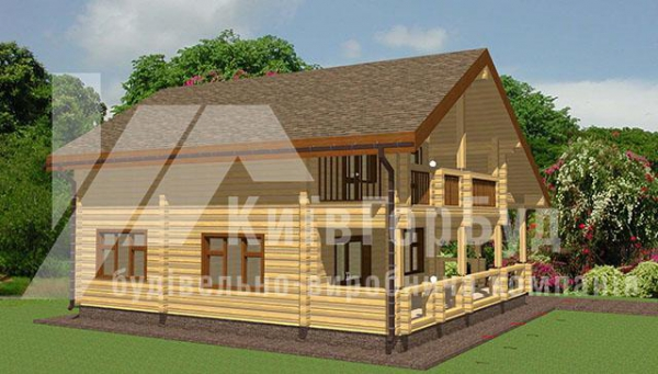 Wooden house project V-173 - image 4
