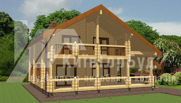 Wooden house project V-173 - image 1