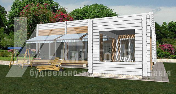 Wooden house project W-136 - image 3