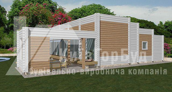 Wooden house project W-136 - image 2