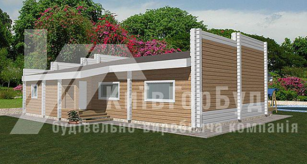 Wooden house project W-136 - image 1