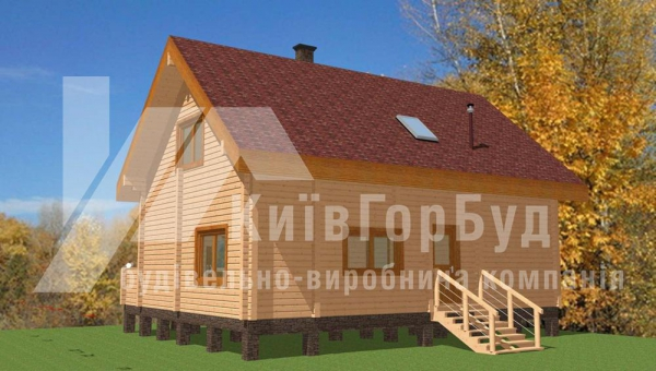 Wooden house project L-140 - image 2