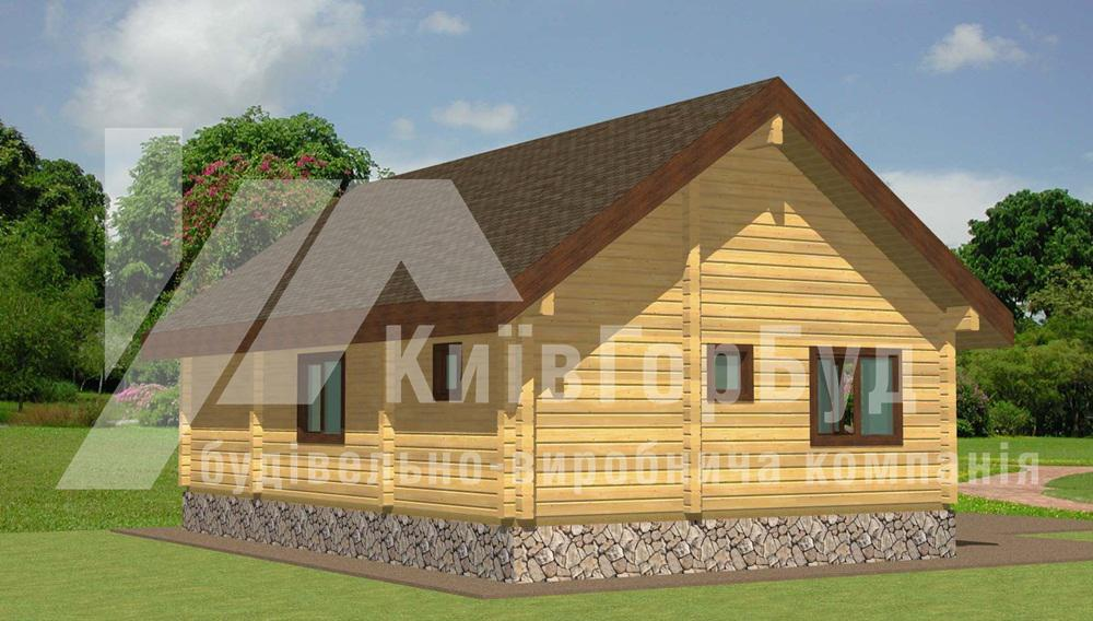 Nice Wooden House Project L 70