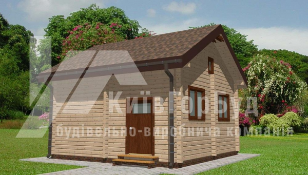 Wooden house project L-40 - image 4