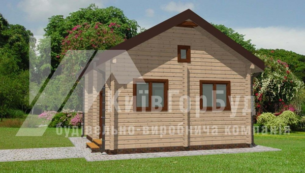 Wooden house project L-40 - image 3