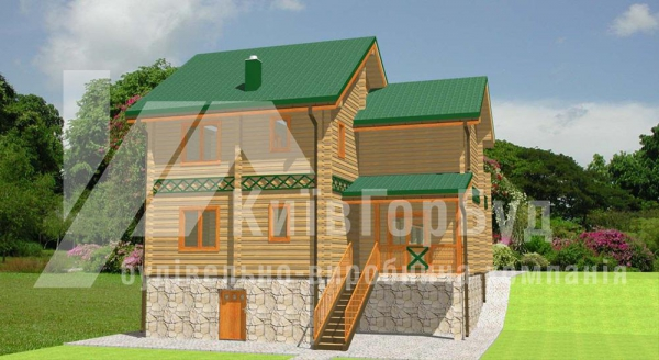 Wooden house project L-246 - image 2